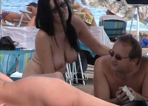 Nudist colony naked